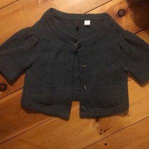 Cute short sleeved sweater